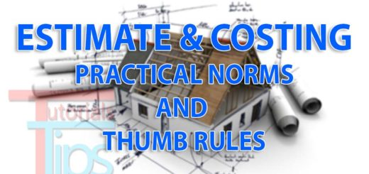 estimate and costing