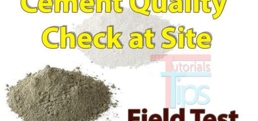 Cement test tutorials tips