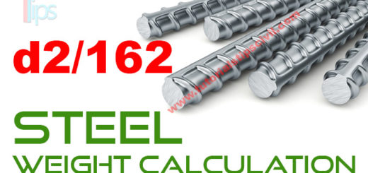 steel weight calculation Archives - Tutorials Tips