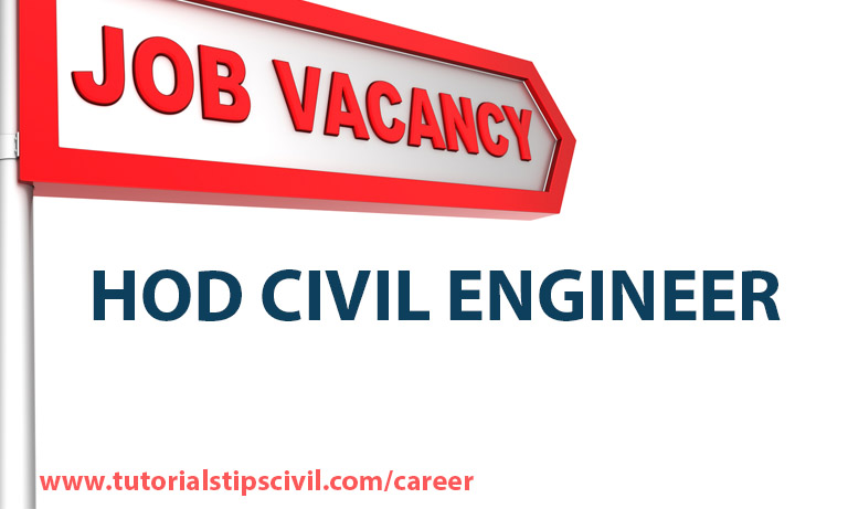 civil engineer vacancy