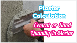 plaster calculation