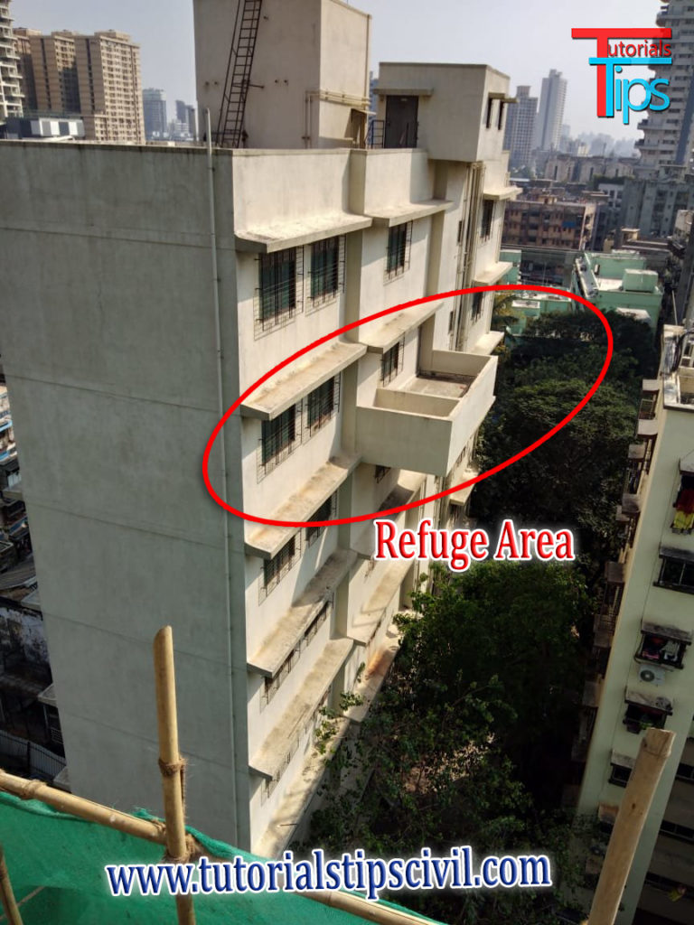 Refuge Area in building