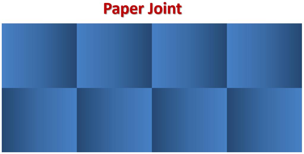 Paper Joint Tiles ( Tutorials Tips civil )