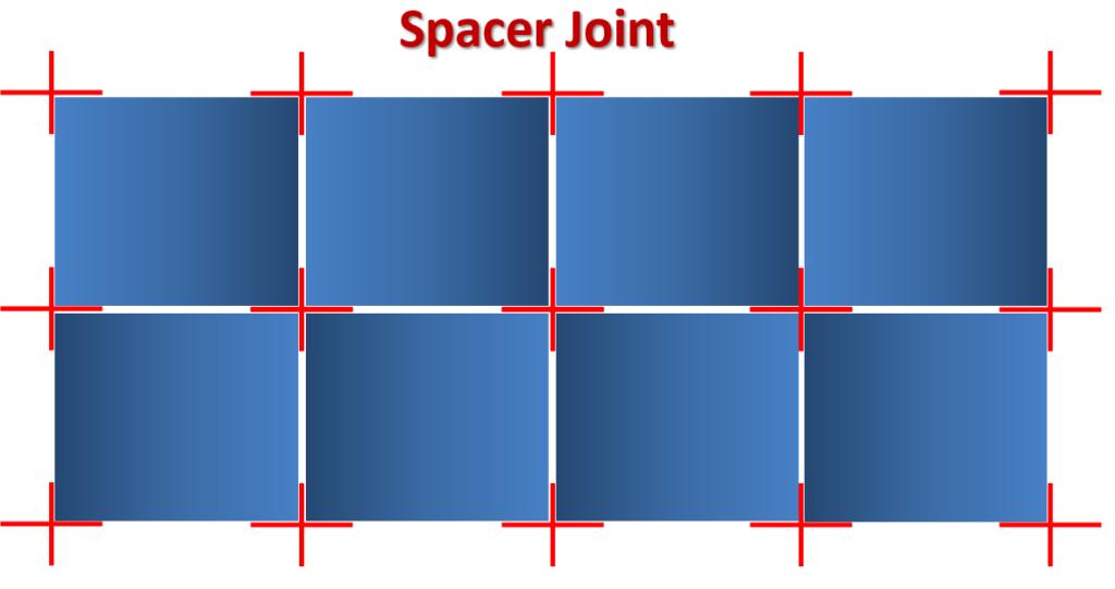 Spacer Joint tiles ( Tutorials Tips civil )