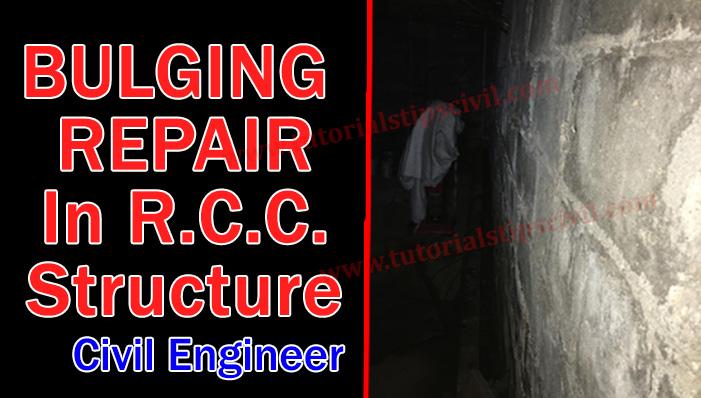 bulging repair method