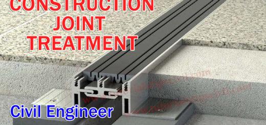 CONSTRUCTION JOINT TREATMENT