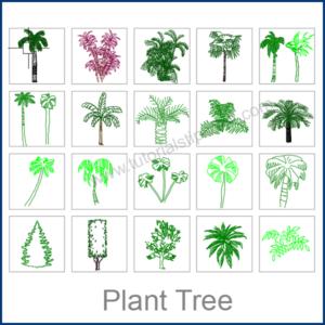 TREE CAD BLOCKS
