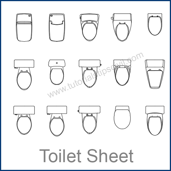 toilet sheet