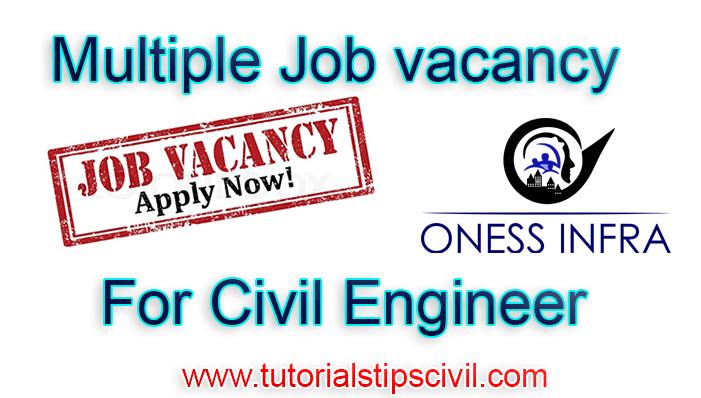 Civil Job openings