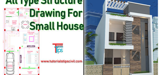 Civil structure drawing
