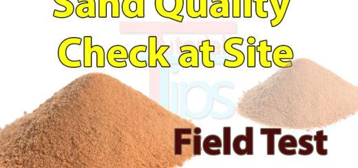 sand quality test tutorials tips