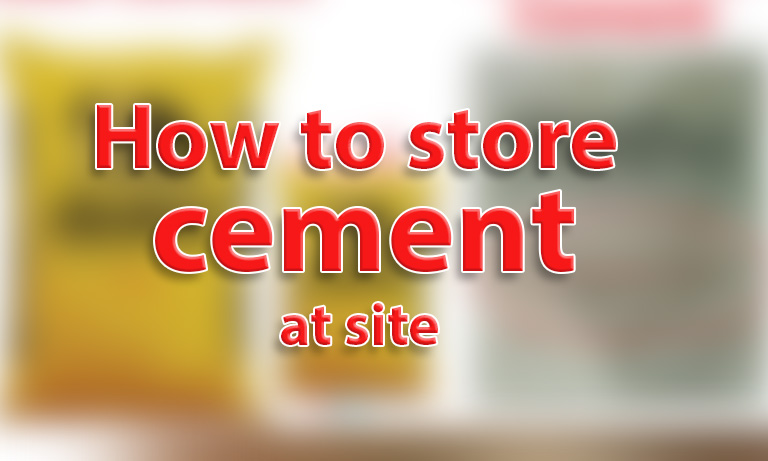 cement bags store