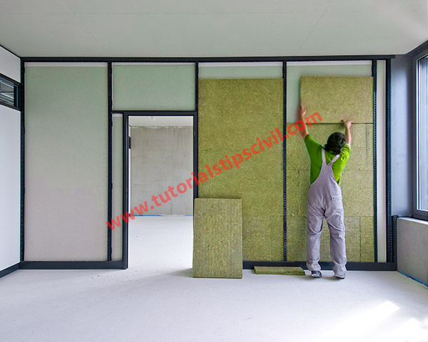 ply wood partition wall