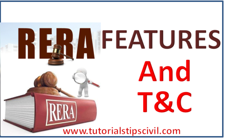 rera term and condition