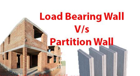 Load Bearing Wall or Partition Wall