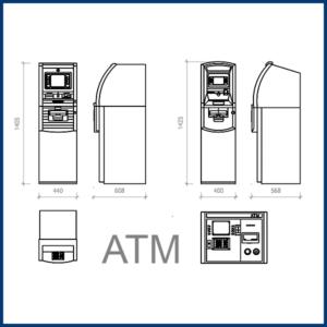ATM CAD BLOCKS