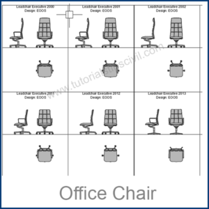 OFFICE CHAIR CAD BLOCKS