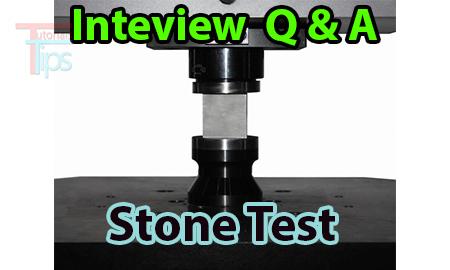 Stone test