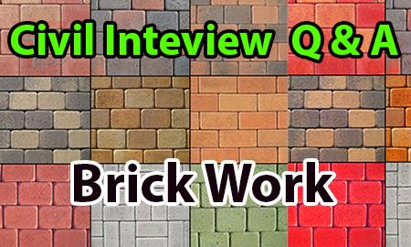 Brick Work Q& A