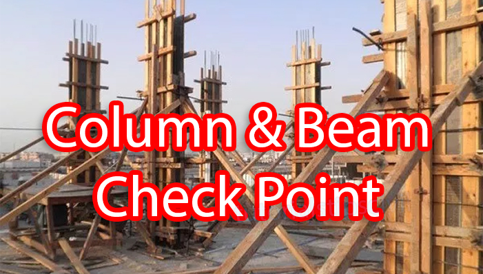 Column Beam Check List