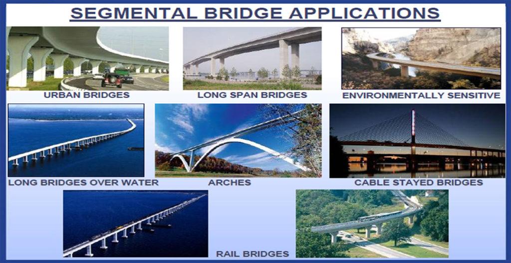 Segmental bridge Application