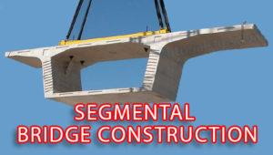 Segmental bridge lifting