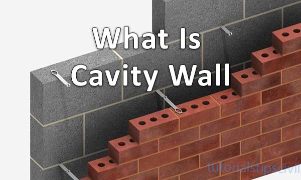 Cavity wall