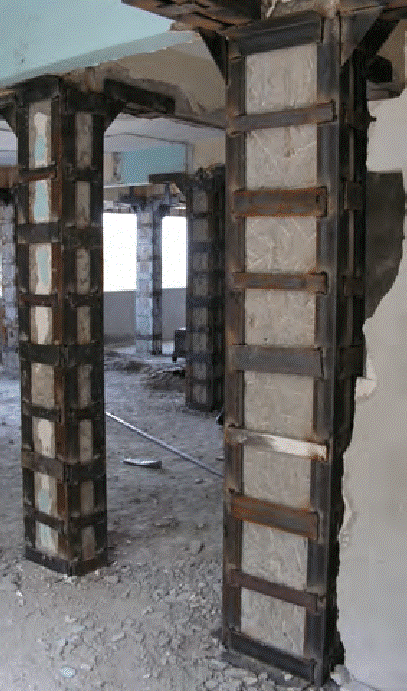 Steel Caging in RCC column