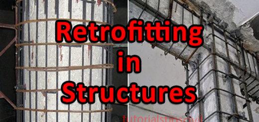 Retrofitting of Structures